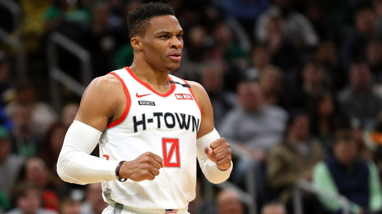 Platz 11 - Russell Westbrook (Basketball) - Bildquelle: 2020 Getty Images