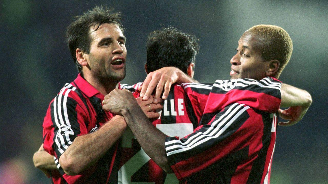 Ze Roberto und Oliver Neuville (Bayer Leverkusen) - Bildquelle: Imago Images