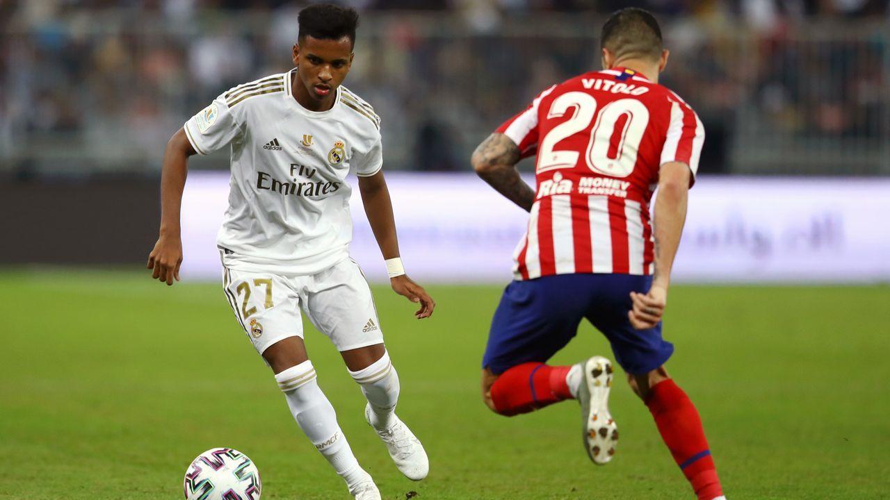 Platz 1 - Rodrygo (Real Madrid) - Bildquelle: 2020 Getty Images