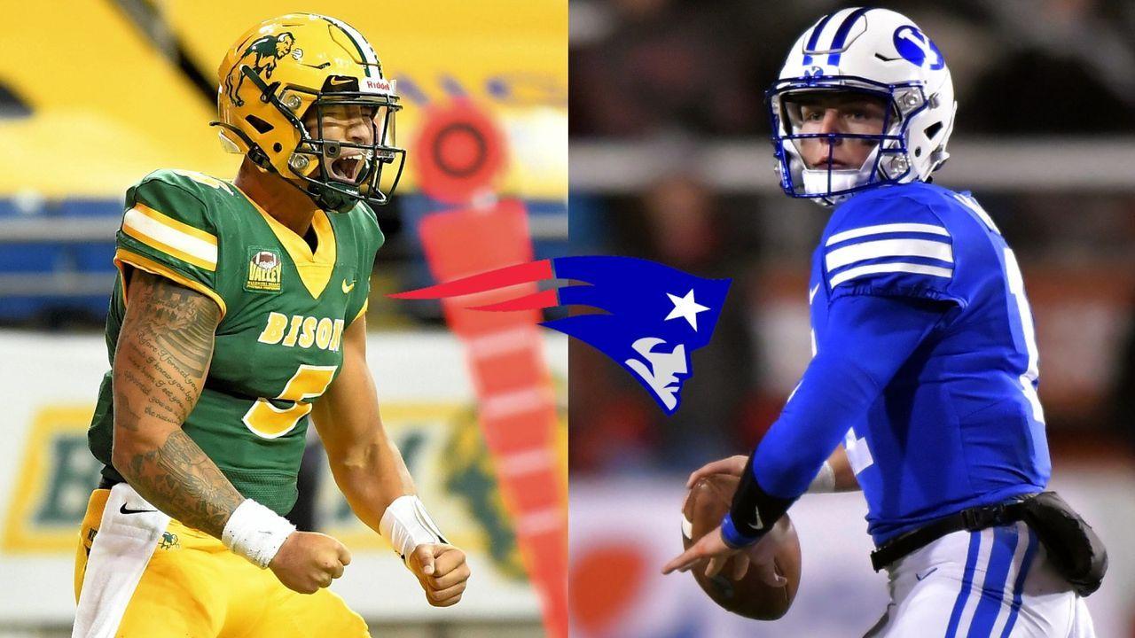 Wilson, Lance & Co.: Diese College-Quarterbacks könnten die Patriots beim Draft 2021 im Auge haben - Bildquelle: getty