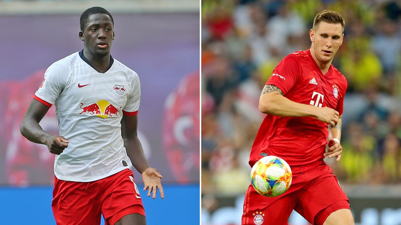 Ibrahima Konate vs. Niklas Süle - Bildquelle: 2019 Getty images