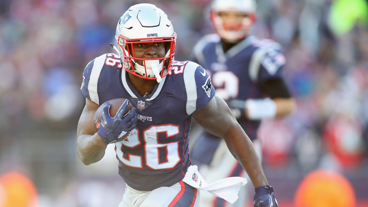 Sony Michel (Running Back, New England Patriots) - Bildquelle: 2018 Getty Images