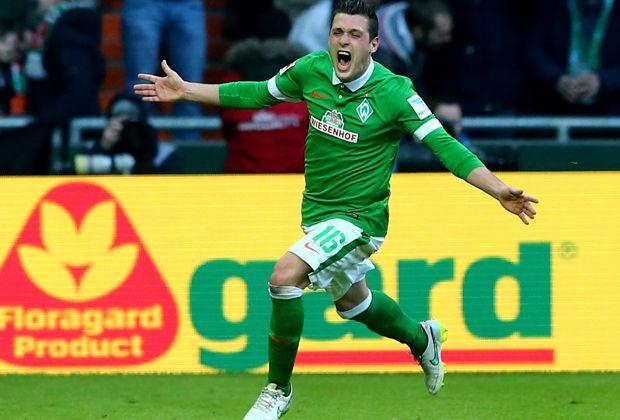 Platz 1: Zlatko Junuzovic (Werder Bremen) - Bildquelle: 2015 Getty Images