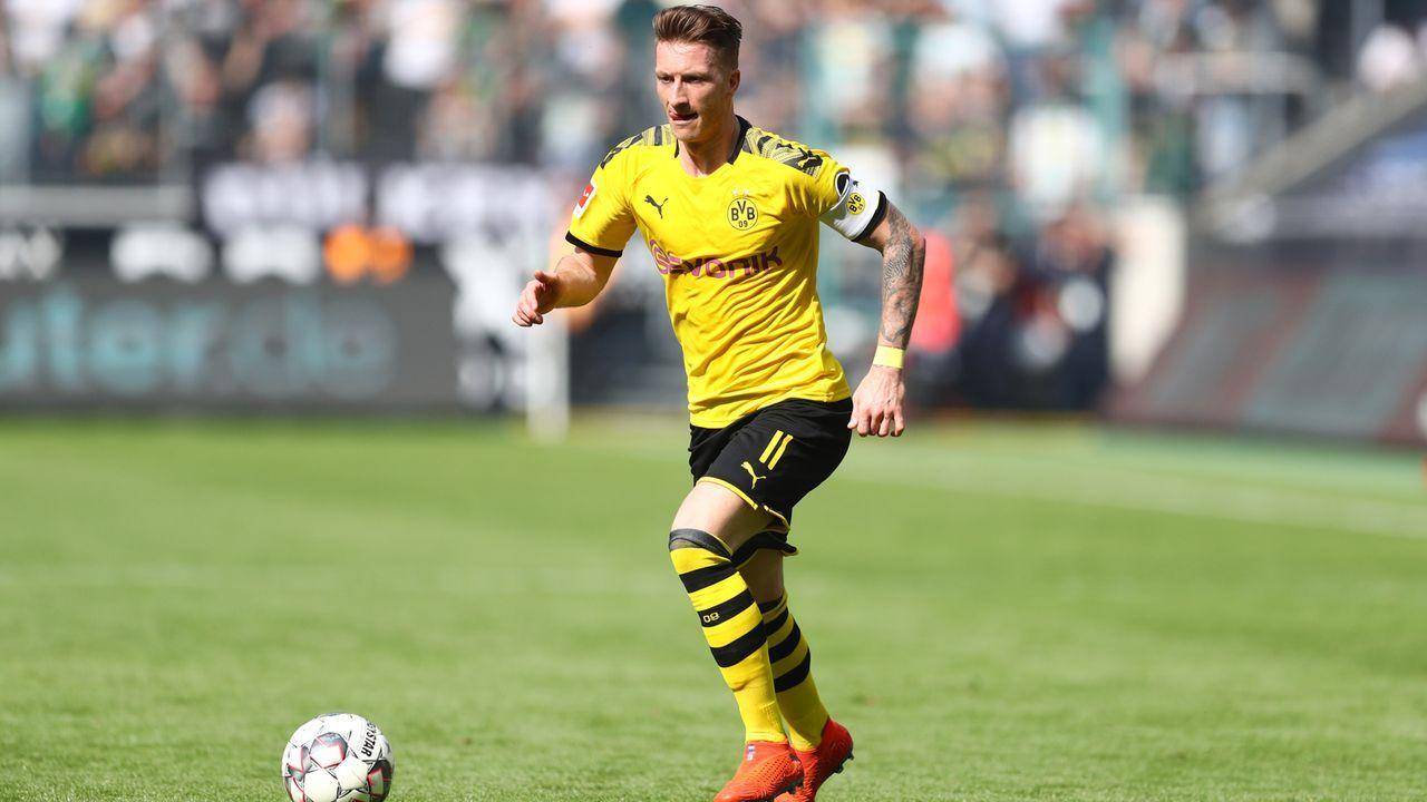 Platz 4 - Marco Reus (Borussia Dortmund) - Bildquelle: 2019 Getty Images
