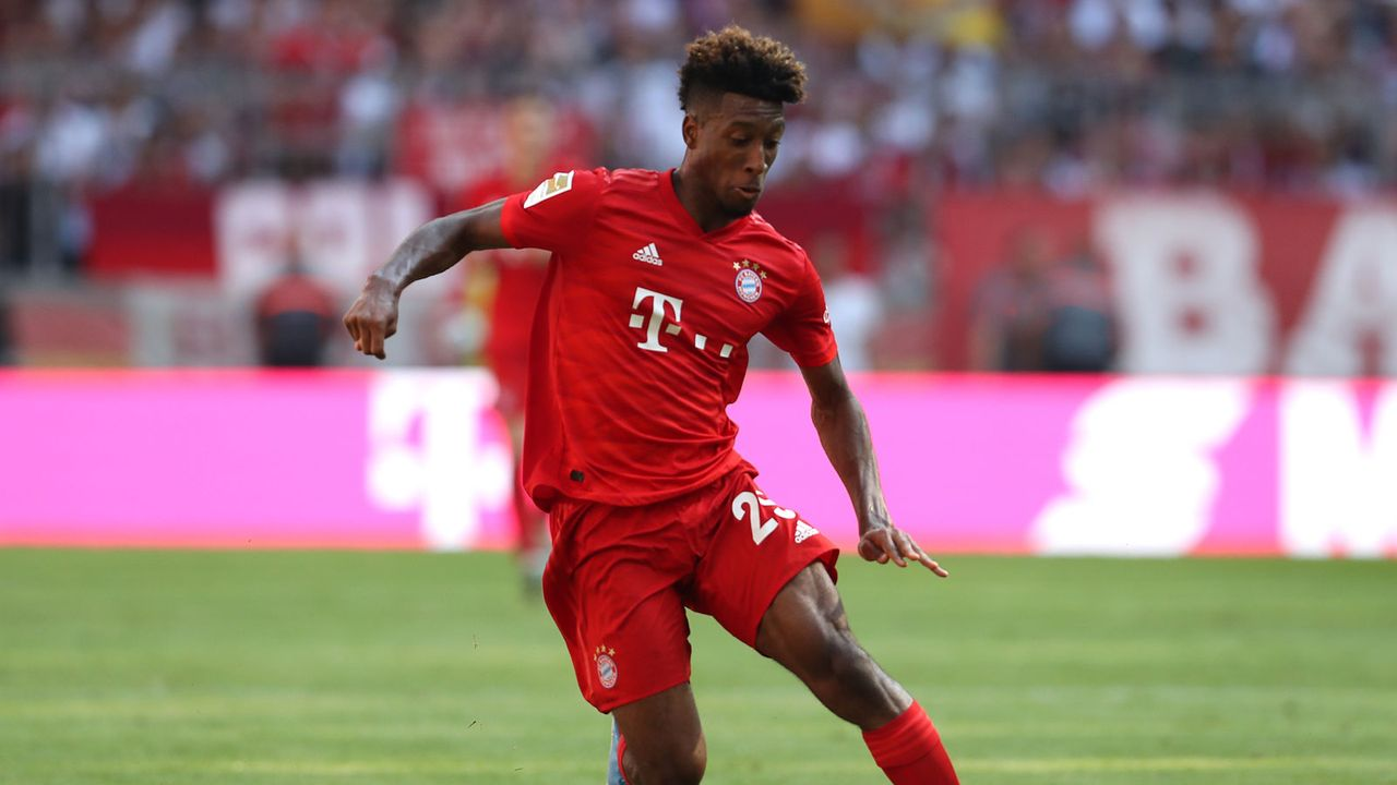1. Kingsley Coman (FC Bayern) - Bildquelle: 2019 Getty Images