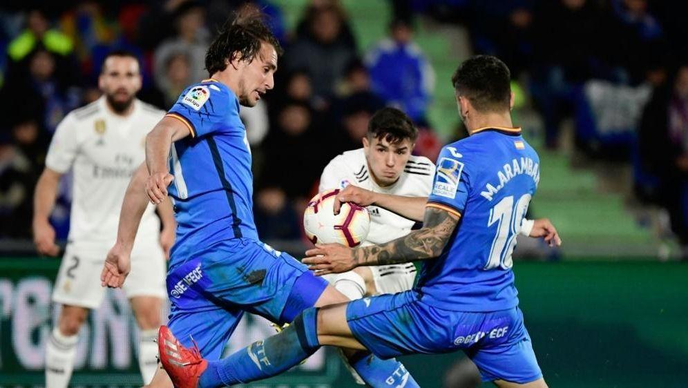 Kein Durchkommen: Real Madrid spielt 0:0 bei Getafe - Bildquelle: AFPSIDJAVIER SORIANO