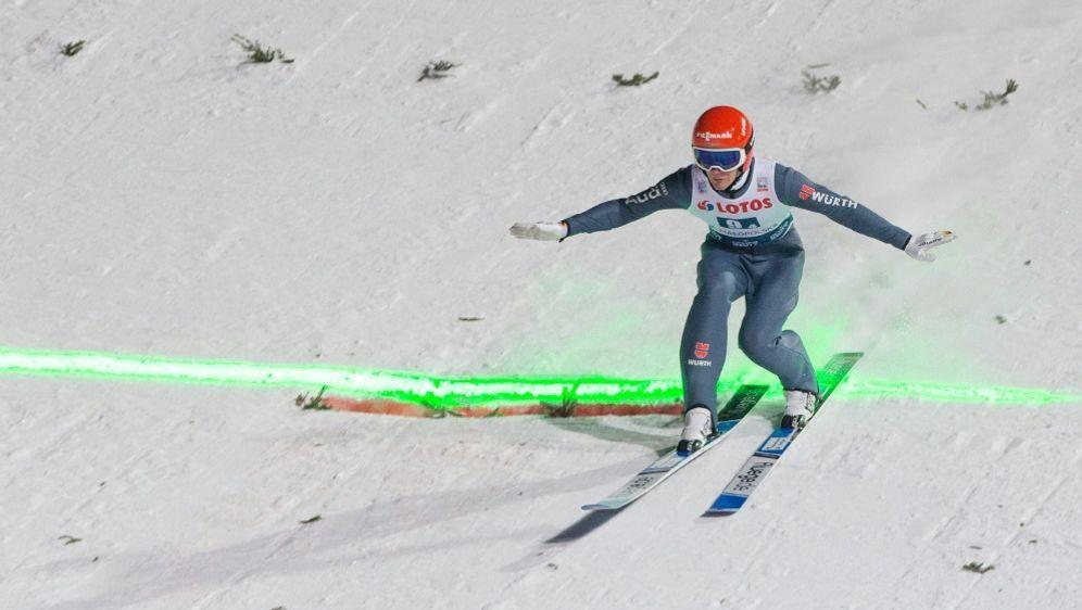 Deutsches Skispringer-Quartett um Leyhe auf Platz vier - Bildquelle: PIXATHLONPIXATHLONSID