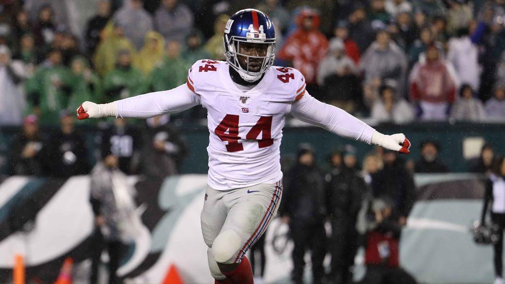 Spielt auch in der kommenden Saison bei den New York Giants: Markus Golden. - Bildquelle: getty