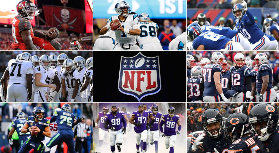c341218221e Regular Season 2018  Die Gegner aller 32 NFL-Teams - Bildquelle  Getty