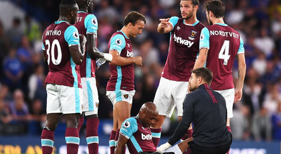 Platz 4: West Ham United - Bildquelle: 2016 Getty Images