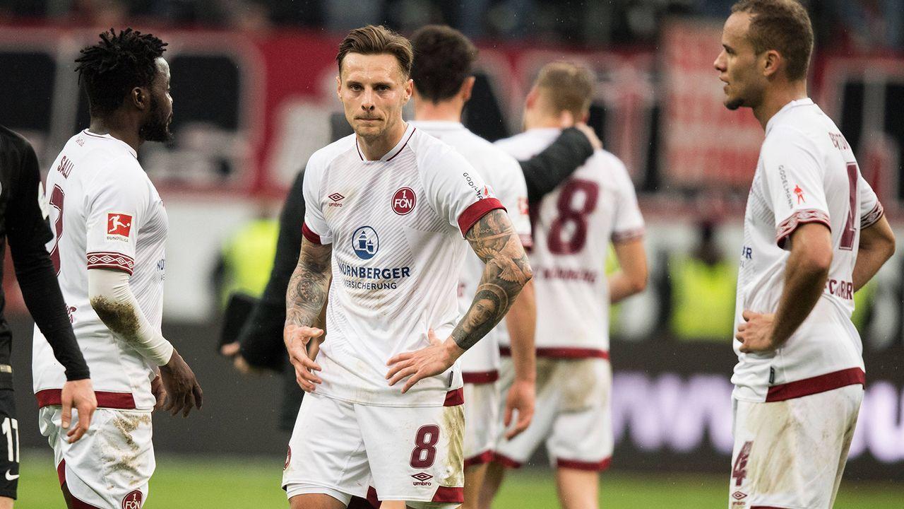 Platz 6: 1. FC Nürnberg (20 Spiele) - Bildquelle: Imago