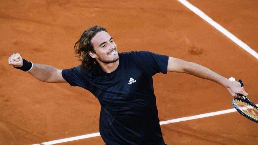 Stefanos Tsitsipas steht erstmals im Halbfinale - Bildquelle: AFPSIDTHOMAS SAMSON