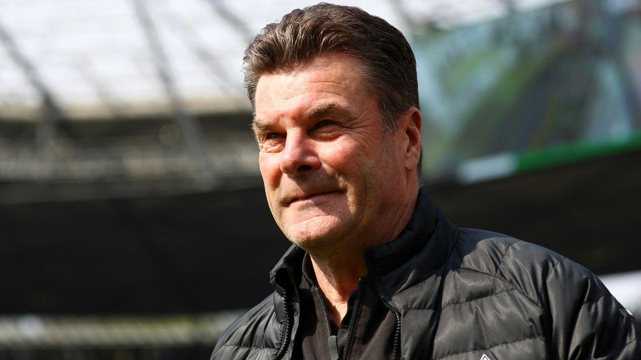 Ab Sommer weg: Dieter Hecking (Borussia Mönchengladbach) - Bildquelle: 2019 Getty Images