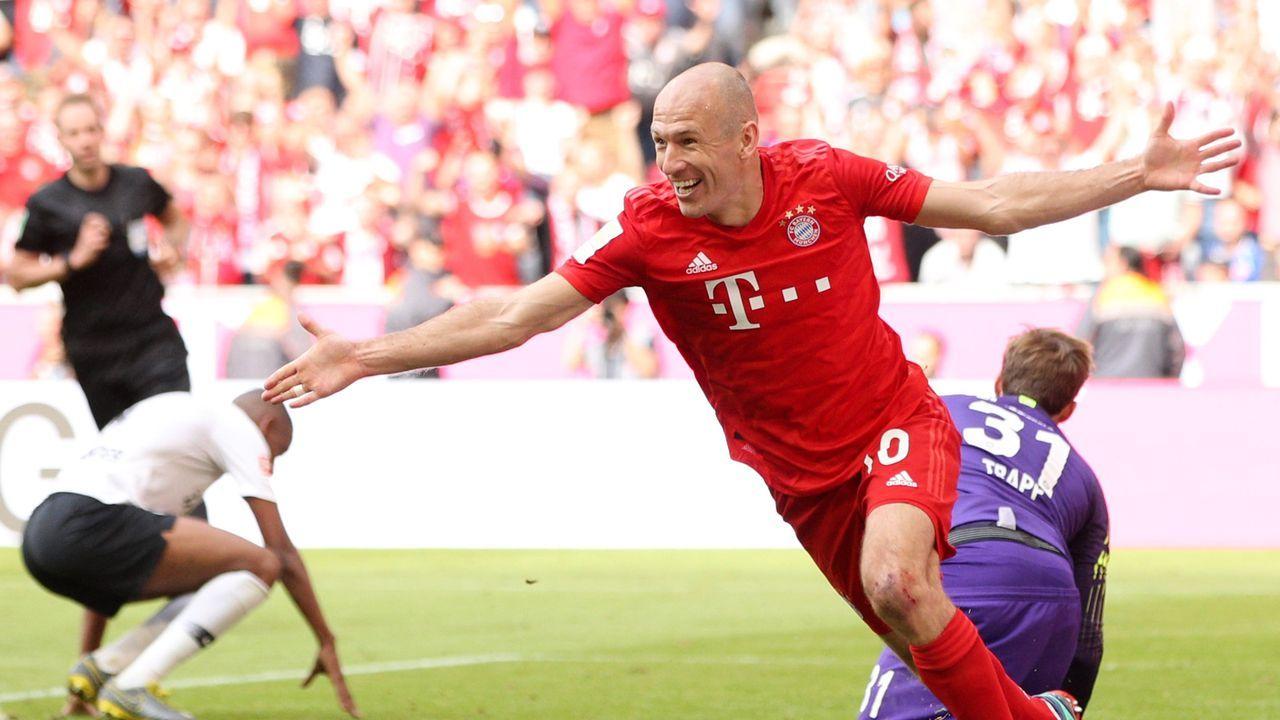 Robben darf sich auch als Torschütze eintragen - Bildquelle: 2019 Getty Images