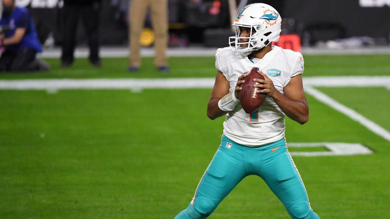 4. Tua Tagovailoa (Quarterback, Miami Dolphins) - Bildquelle: 2020 Getty Images