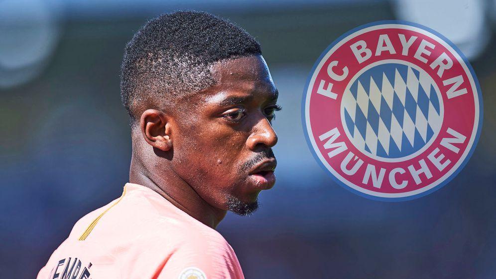 Ousmane Dembele (Foto) sollte für die Bayern keine Alternative für Leroy San... - Bildquelle: 2019 Getty Images