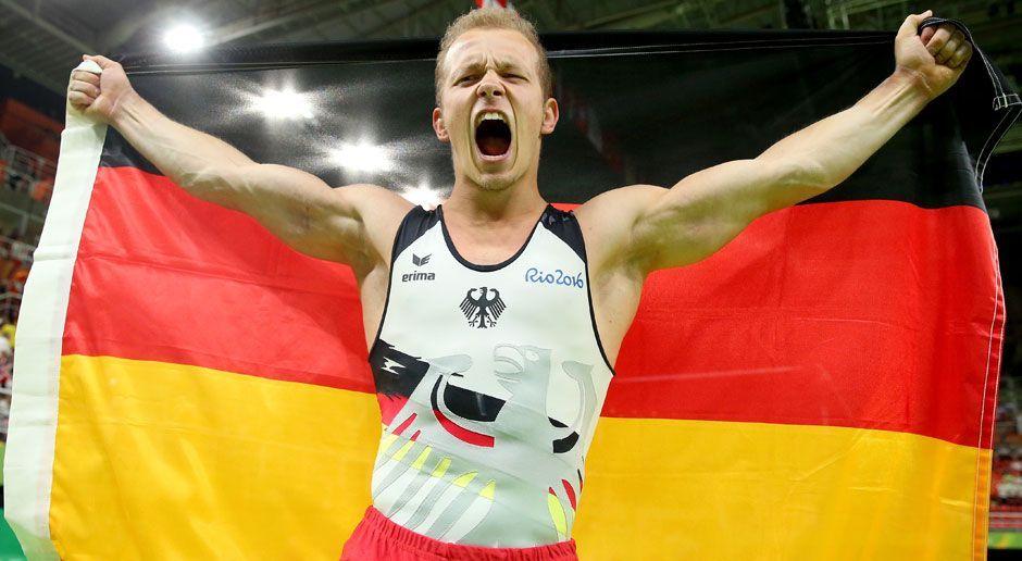 Fabian Hambüchen (Reck/Gold) - Bildquelle: 2016 Getty Images
