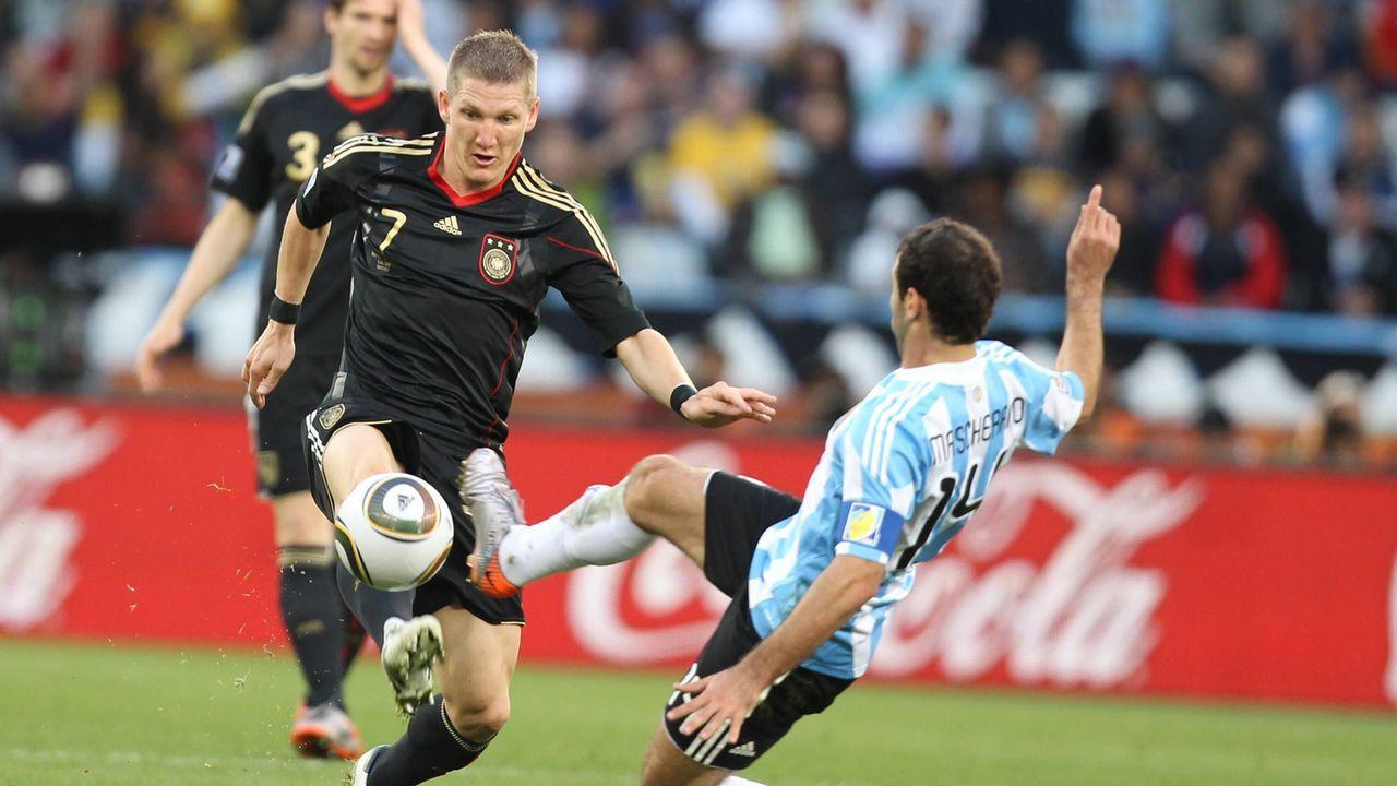 WM 2010 gegen Argentinien - Bildquelle: Imago
