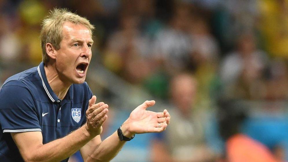 Alles Anfeuern war umsonst: Jürgen Klinsmann - Bildquelle: SID SID AFP
