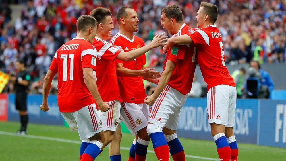 Russland gewann das Eröffnungsspiel gegen Saudi-Arabien mit 3:0. - Bildquelle: 2018 Getty Images