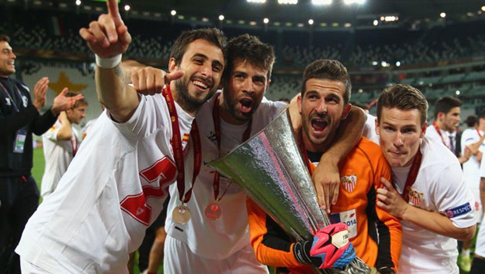Im vergangenen Jahr gewann der FC Sevilla das Europa-League-inale gegen Benf... - Bildquelle: imago