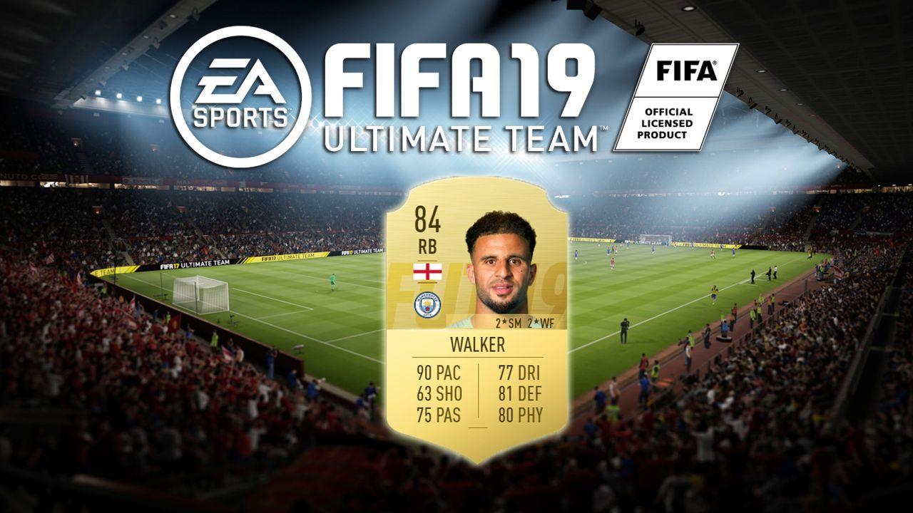 Platz 9: Kyle Walker (Tottenham Hotspur) - Bildquelle: EA Sports
