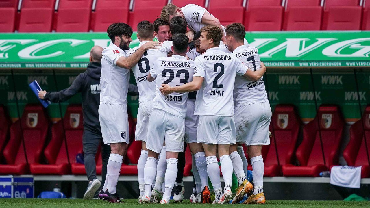 Platz 13: FC Augsburg (3,58 Millionen Euro) - Bildquelle: nordphoto GmbH / gumzmedia