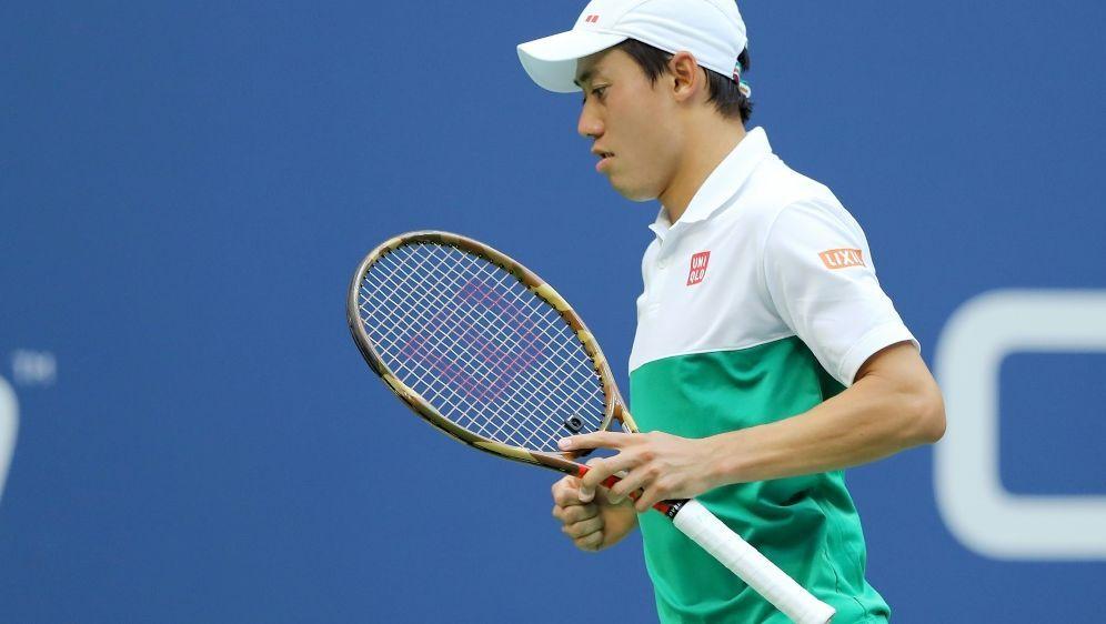 Nishikori steht im Halbfinale der US Open - Bildquelle: GETTY AFPSIDELSA