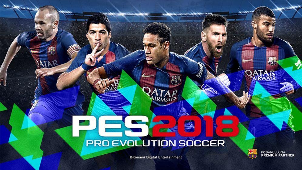 Die ersten Details zu Pro Evolution Soccer 2018 sind bekannt - Bildquelle: Konami
