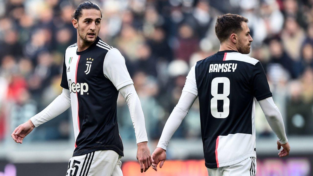 Adrien Rabiot und Aaron Ramsey (Juventus Turin)  - Bildquelle: imago