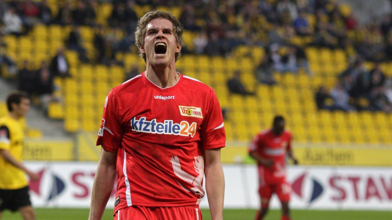Union Berlin 2011 - 2014, 93 Spiele, 25 Tore - Bildquelle: imago sportfotodienst