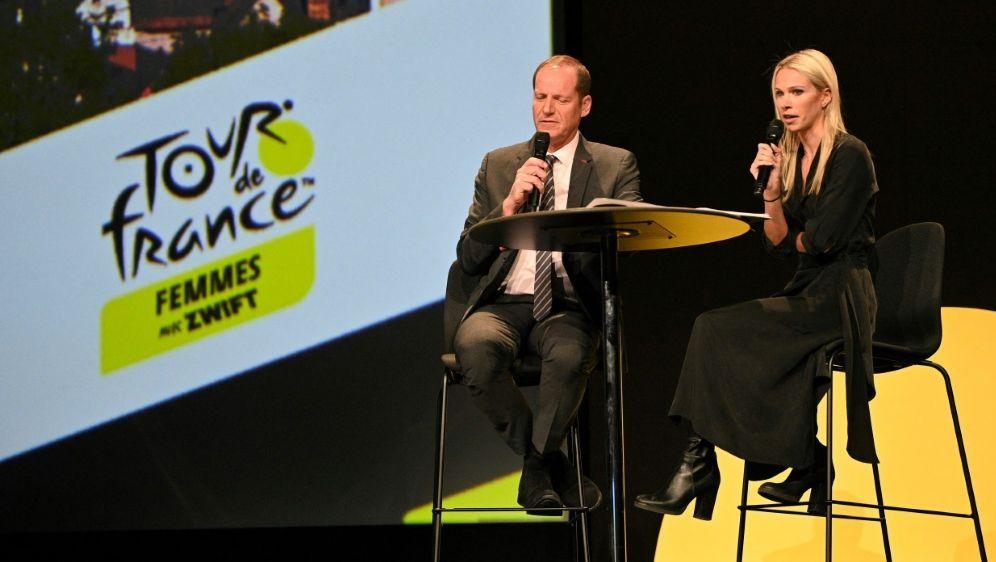 Tour de France Femmes: Prudhomme stellt Programm vor - Bildquelle: AFP/SID/ANNE-CHRISTINE POUJOULAT