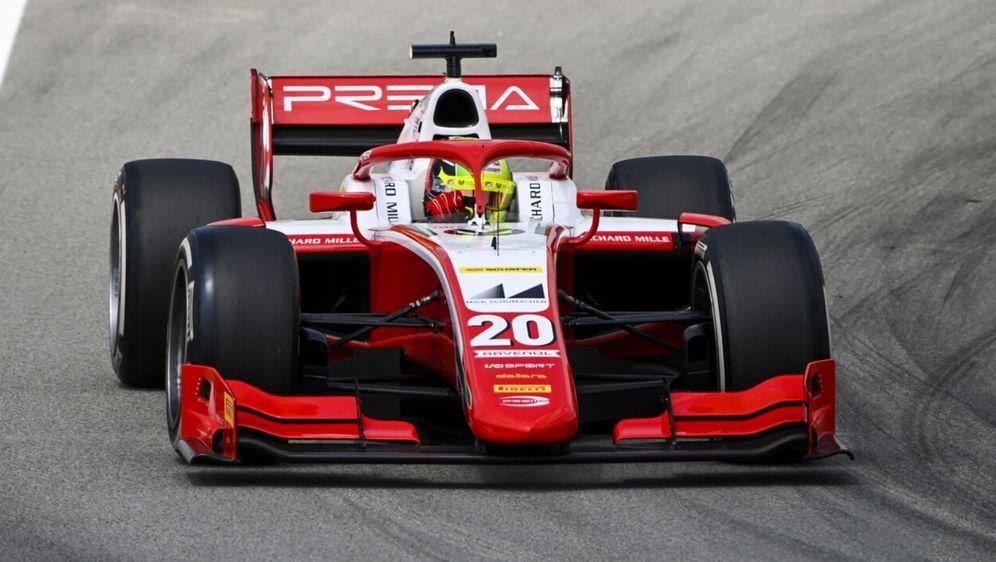 Mick Schumacher steht im Hauptrennen in Startreihe drei - Bildquelle: Motorsport Images