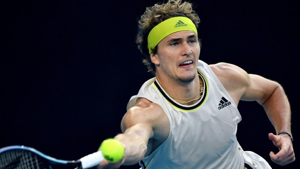 Zverev spielt im Viertelfinale gegen Djokovic - Bildquelle: AFPSIDPAUL CROCK