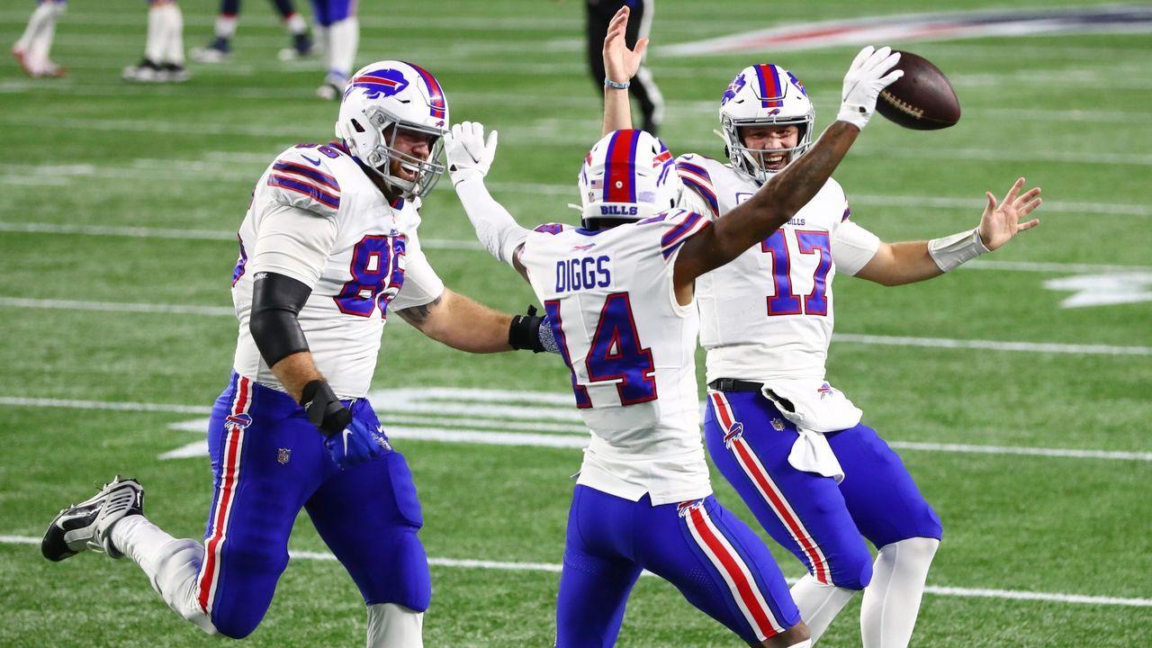 Platz 3: Buffalo Bills - Bildquelle: Getty