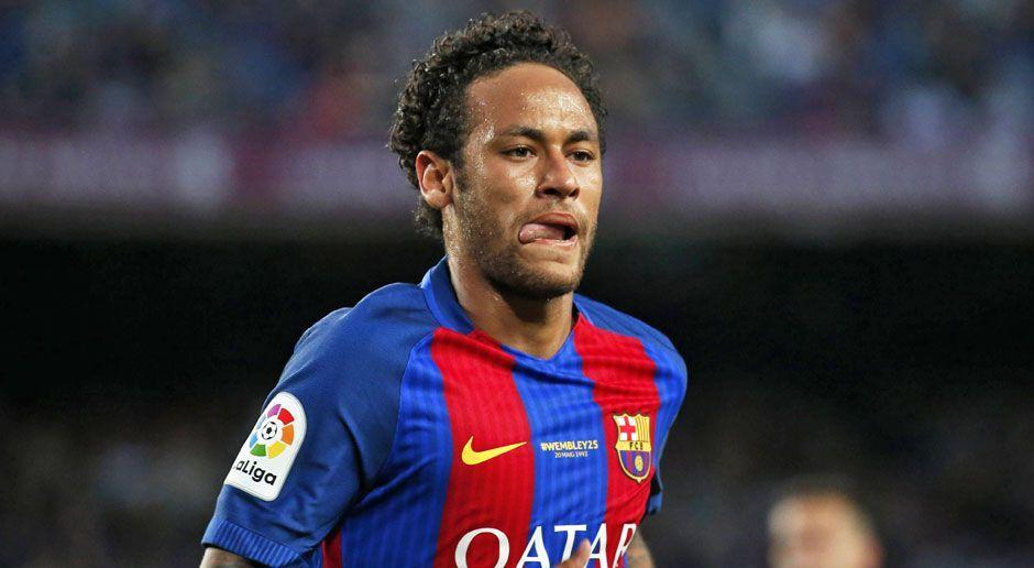 Platz 1: Neymar - Bildquelle: imago/ZUMA Press