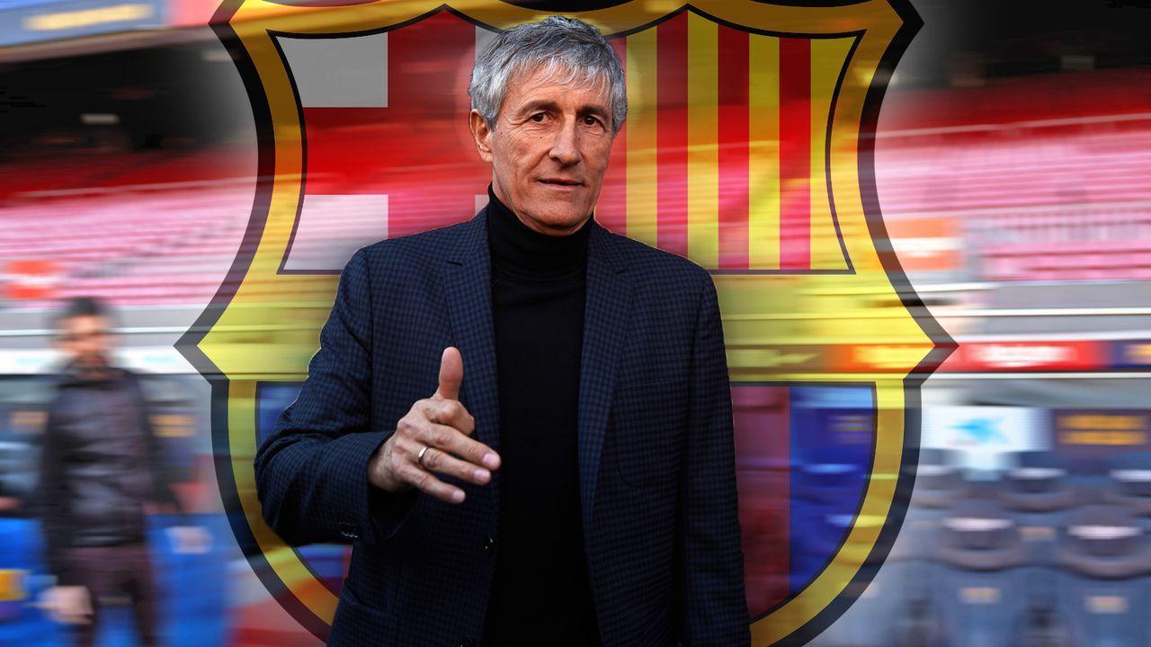 FC Barcelona: So tickt der neue Trainer Quique Setien - Bildquelle: 2020 Getty Images