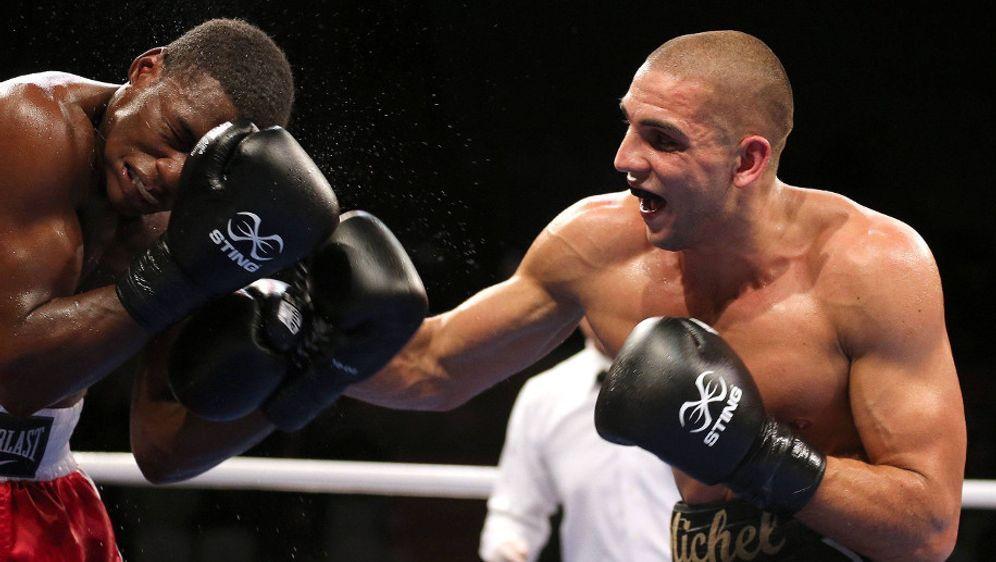 Serge Michel (re.) will seinen nächsten Titel gewinnen - Bildquelle: imago sportfoto