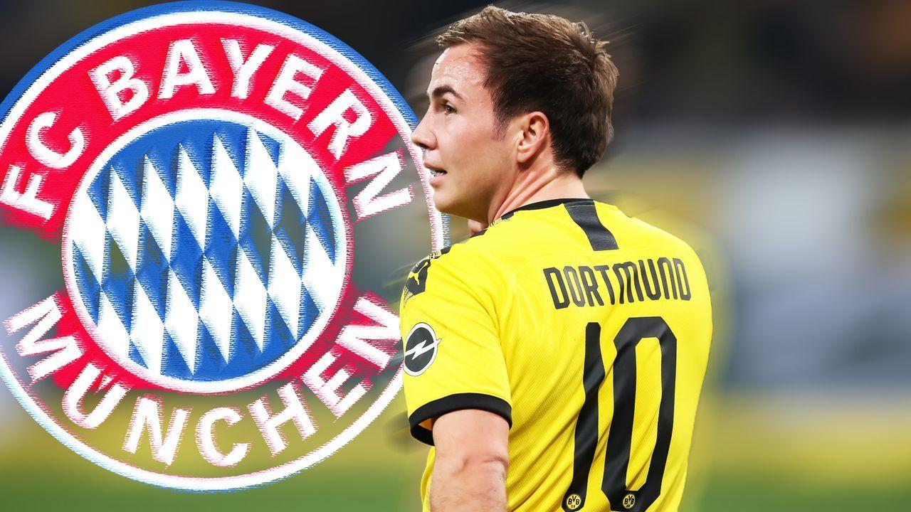 Mario Götze zum FC Bayern: Warum eine Rückholaktion Sinn macht - und was dagegen spricht - Bildquelle: getty/ran.de