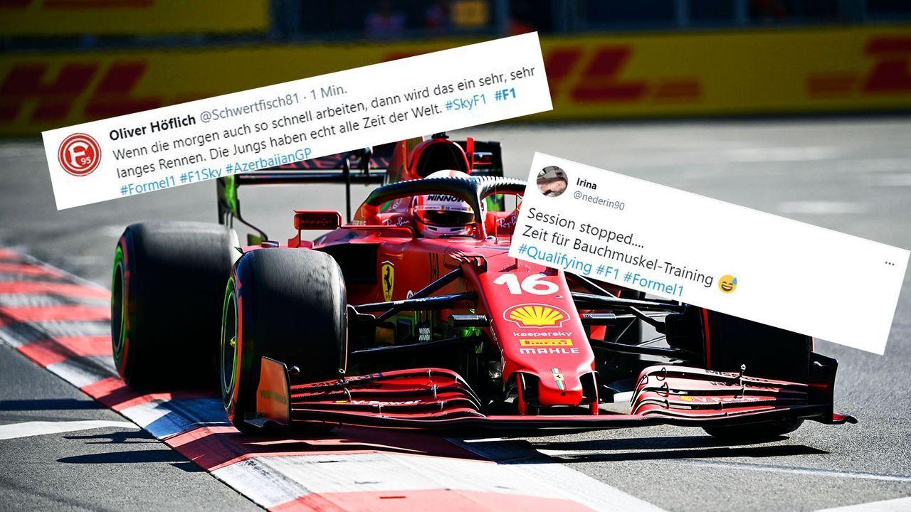 Die Netzreaktionen zum Aserbaidschan-Qualifying - Bildquelle: imago images/Motorsport Images