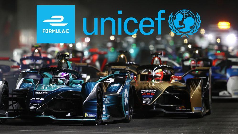 Die Formel E und UNICEF arbeiten künftig zusammen. - Bildquelle: Getty