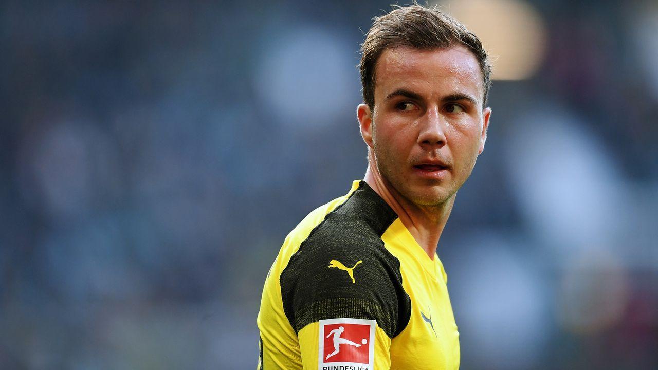 Platz 6: Mario Götze (Borussia Dortmund) - 104 Scorerpunkte - Bildquelle: 2019 Getty Images