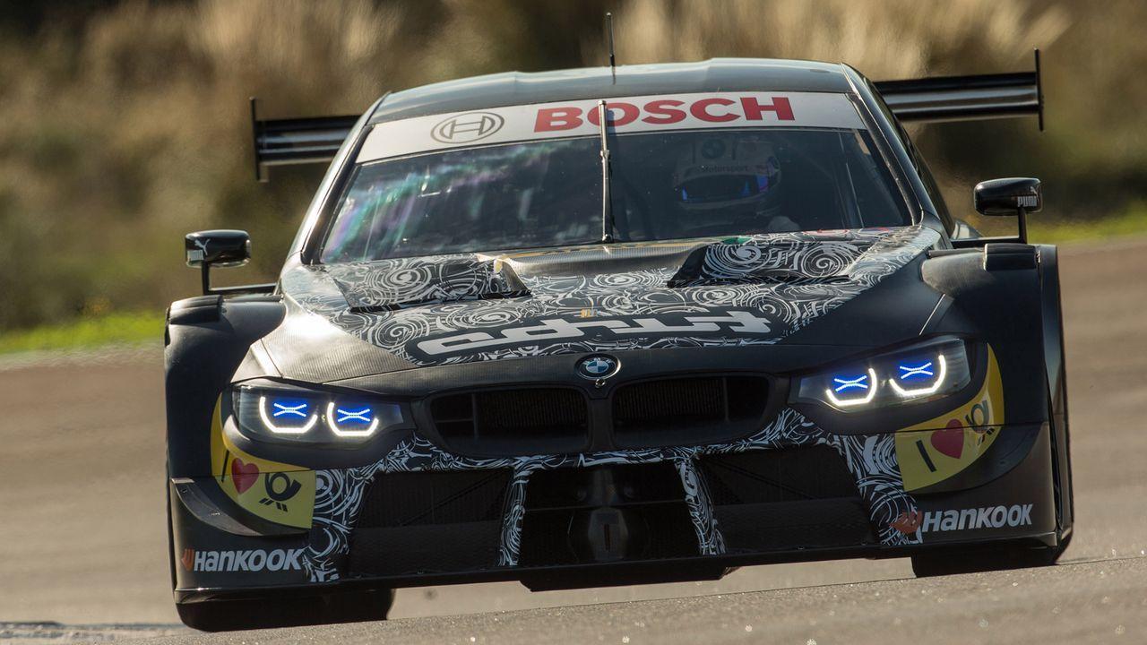 Turbo-Ära: Die neuen DTM-Autos von Audi und BMW - Bildquelle: Andreas Beil