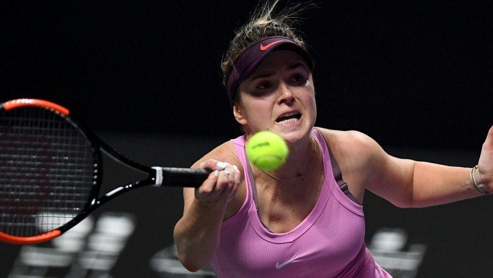 Jelena Switolina steht ungeschlagen im Halbfinale - Bildquelle: AFPSIDNOEL CELIS