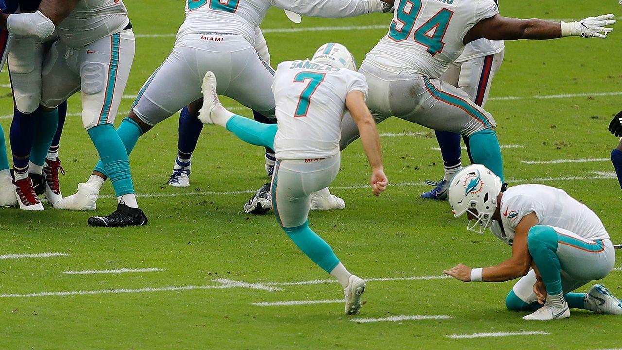 Special Teams und Kicker: Miami Dolphins - 21 Punkte - Bildquelle: 2020 Getty Images