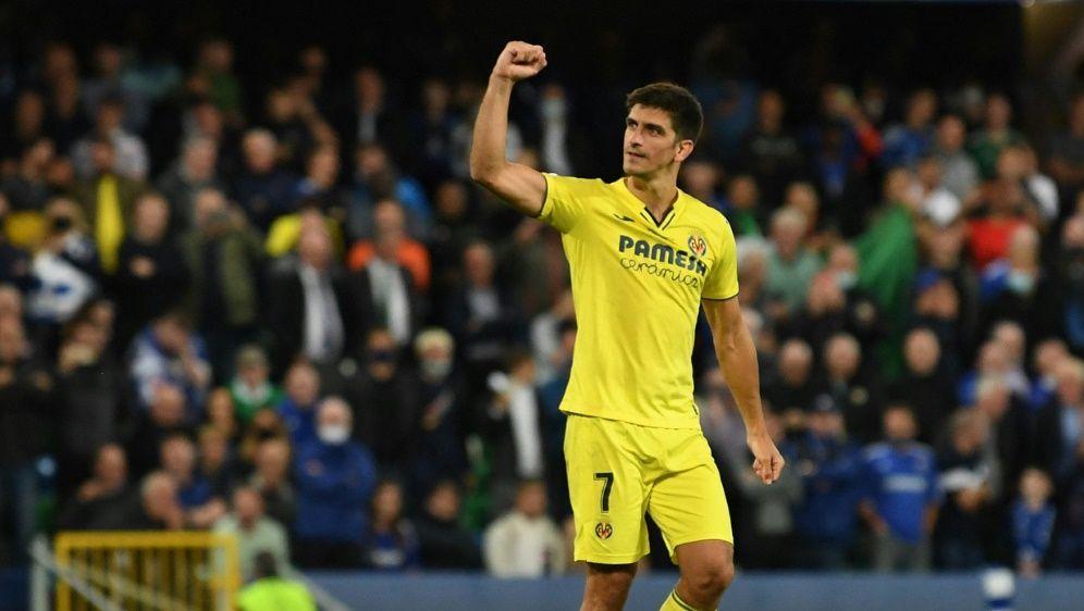Moreno holte mit Villarreal den Europa-League-Titel - Bildquelle: AFPSIDPAUL ELLIS