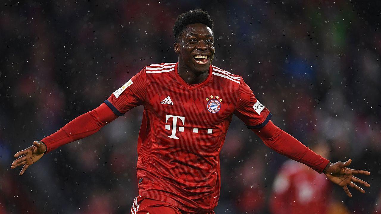 Platz 30: Alphonso Davies (Bayern München) - Bildquelle: Getty Images