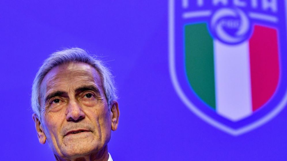 Italiens Fußball-Verbandschef Gabriele Gravina - Bildquelle: AFPSIDALBERTO PIZZOLI