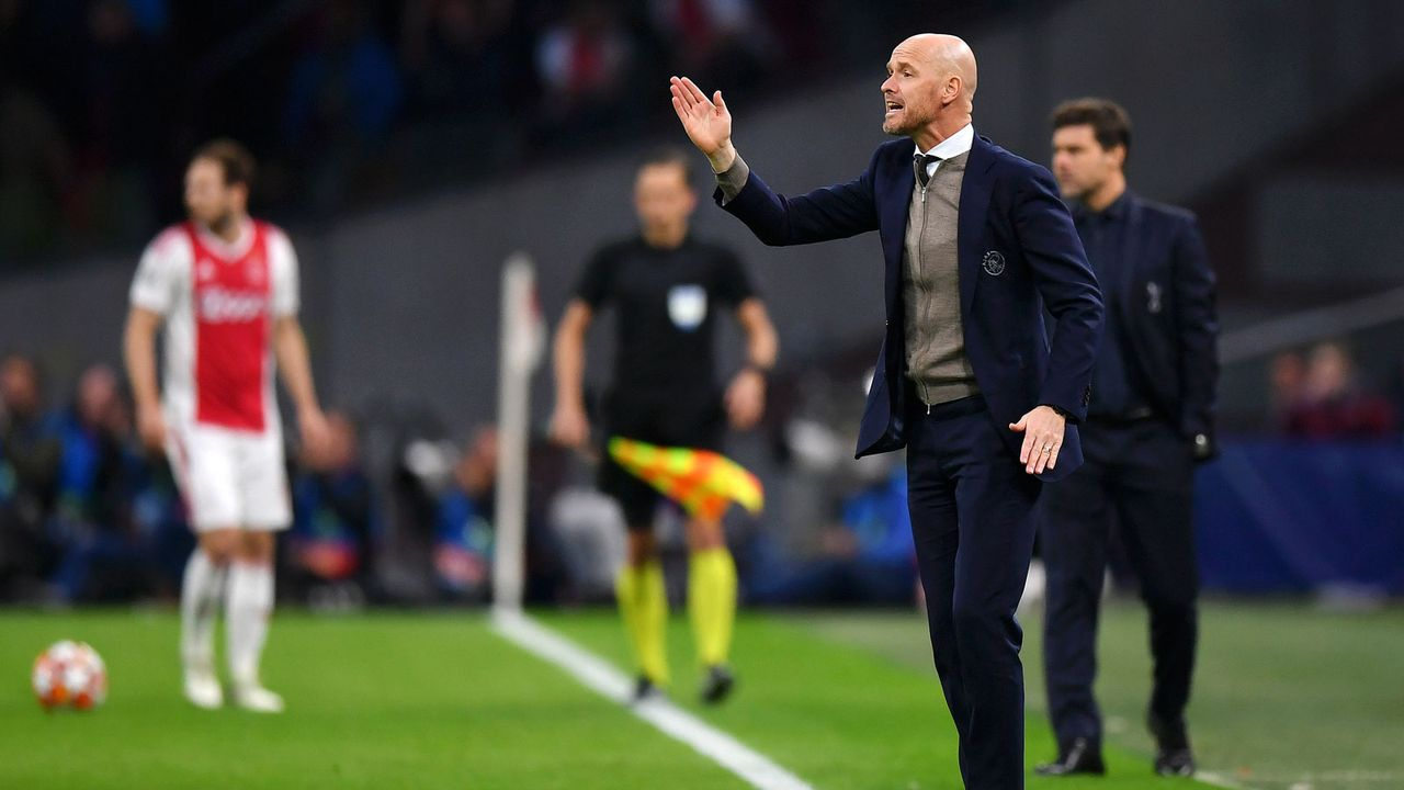 Platz 3: Erik ten Hag (Ajax Amsterdam) - Bildquelle: 2019 Getty Images
