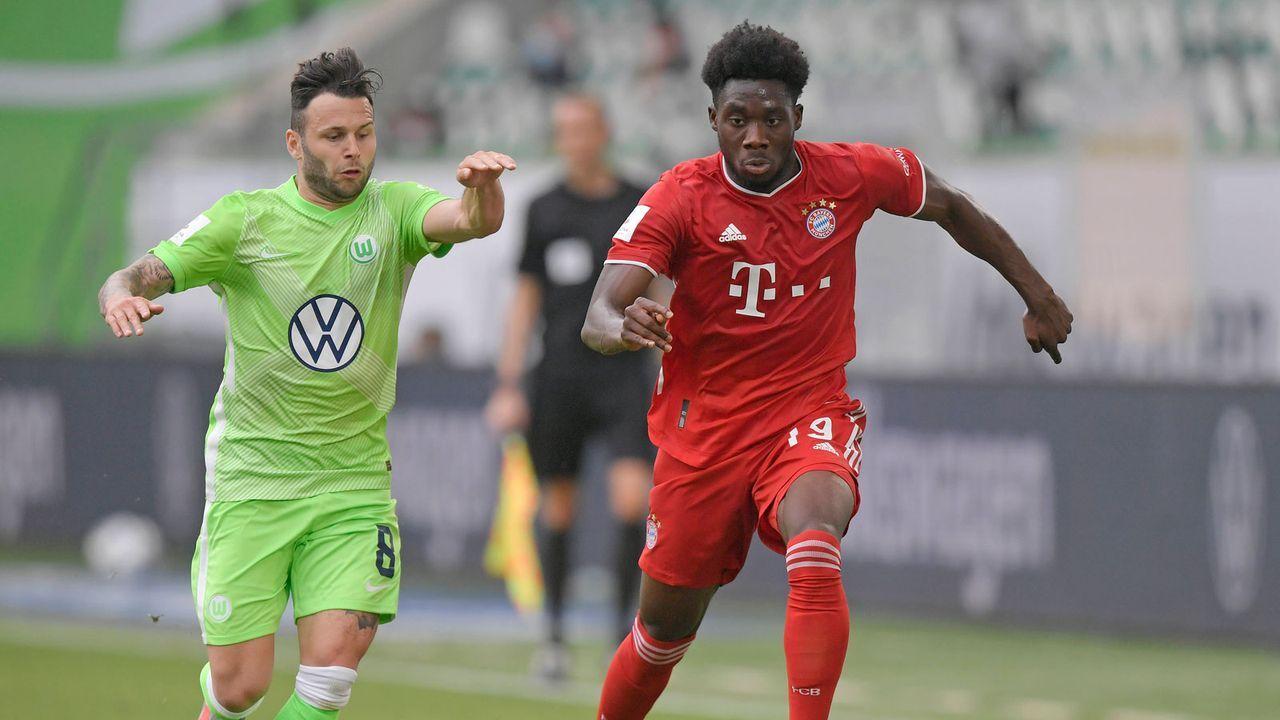 Bayern-Star Alphonso Davies nennt die fünf besten Außenverteidiger der Welt - Bildquelle: M.i.S.-Sportpressefoto